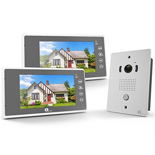 1by one vp-0689 7 Inches Color Wired Video Doorbell