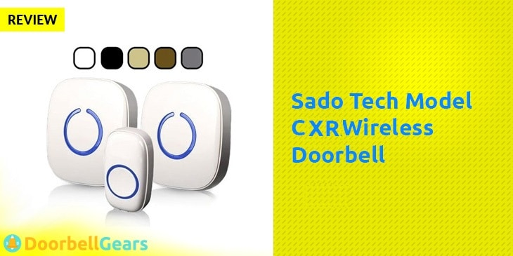 Sado-Tech-Model-CXR-Wireless-Doorbell